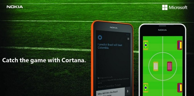 Cortana World Cup predictions