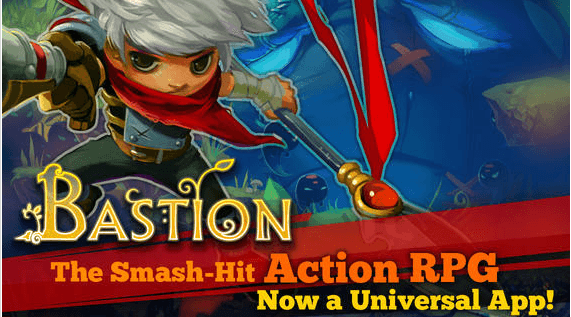 Bastion Best IOS RPGS 2014