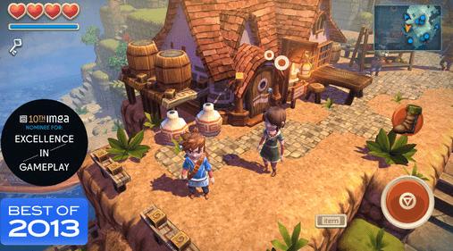 Ocean Horn Best IOS RPGS 2014