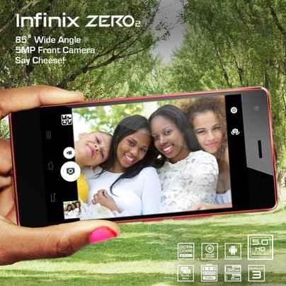 Infinix Zero 2 Front Camera
