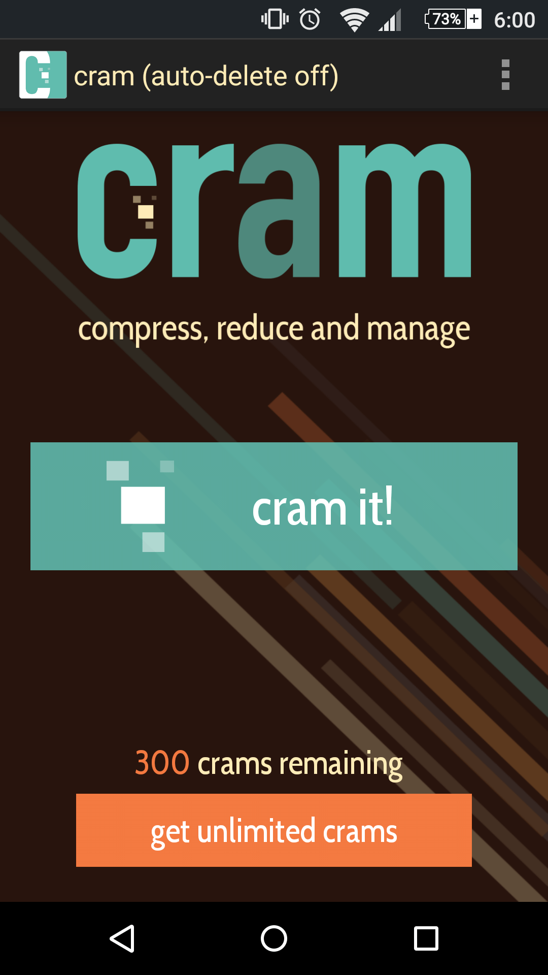 Cram image compressor