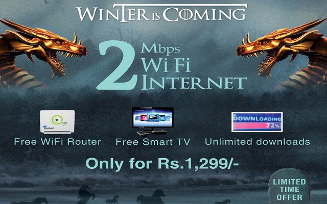 PTCL Broadband Winter Promotion Packages