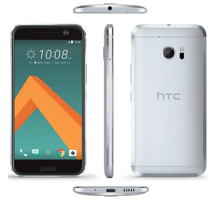 HTC 10 press render