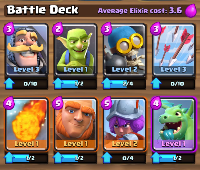 clash of royale troops