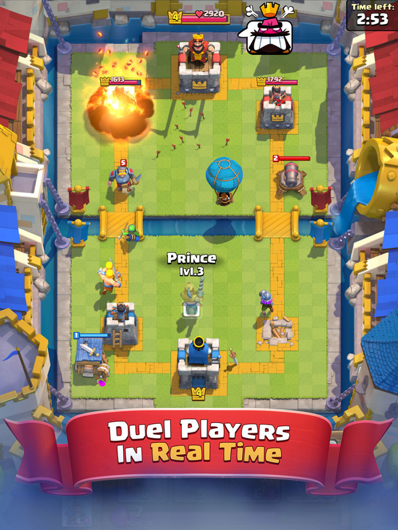 clash of royale war